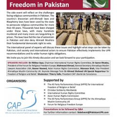 The Denial of religious freedom in Pakistan