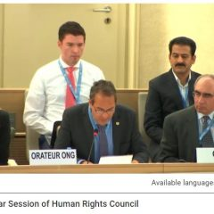 38th HRC session CAP LC oral statement on Religious Freedom in China