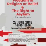 Freedom of Religion or Belief and the Right to Asylum: The Case of China