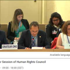 Joint oral statement at the 38th session of the Human Rights Council : Religious Freedom in the Russian Federation