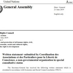 HRC 41 written statement : Misuse and Abuse of the Pre-trial Detention and the FIES System in Spain & the Kokorevs Case