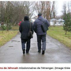Déportation de Témoins de Jéhovah, accusés d'« infiltration étrangère »